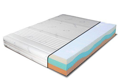 Materasso Memory 6 Cm.Materasso Memory 7 Zone Differenziate Con Fibra Argento