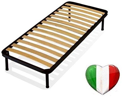 Rete letto singola a doghe ortopedica 80x190 - Rete letto elettrica prezzo ...
