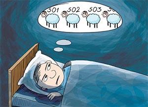 difficoltà a prendere sonno