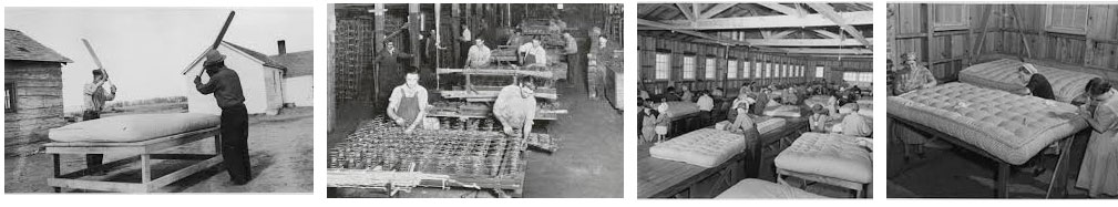 storia dei materassi